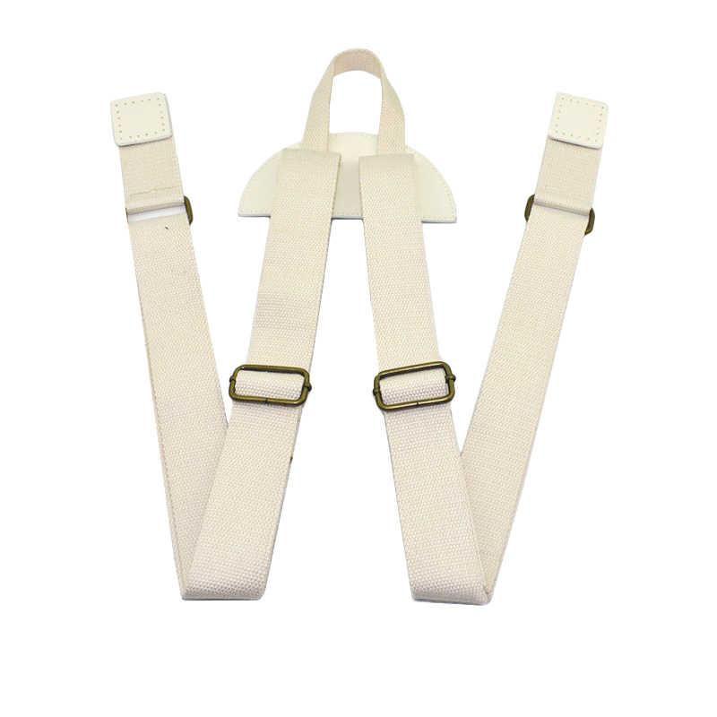 Прочный холщовый рюкзак с регулируемой заменой Плеча Рюкзак Школьная Сумка для книг аксессуары для кожаного ремня KZ0339-1