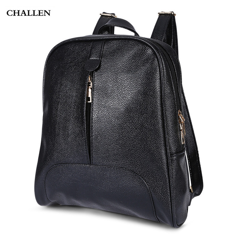 Casual Style PU Leather Women Stylish Backpack