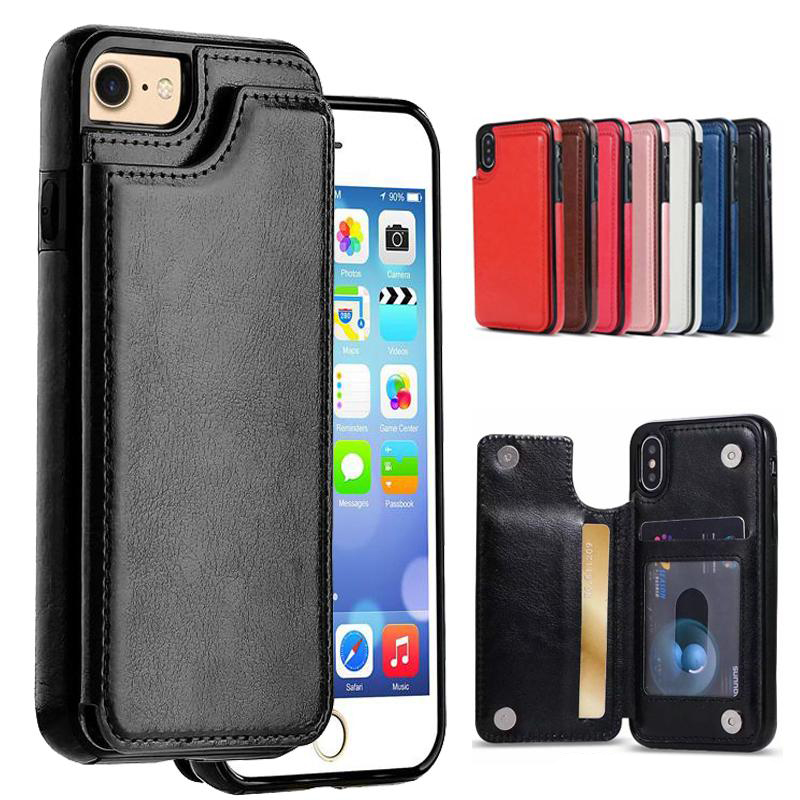 100/300PCS Wallet Leather Phone Case Card Slots Slim Folio Stand Shockproof For iPhone XS MAX XR X 8 7 6s plus for samsung S10100/300PCS Wallet Leather Phone Case Card Slots Slim Folio Stand Shockproof For iPhone XS MAX XR X 8 7 6s plus for samsung S10