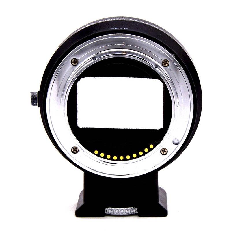 Auto lentille focale adaptateur de montage Anneau pour Canon VELEDGE EF Lens pour NEX E/EF-MOUNT nouveauté