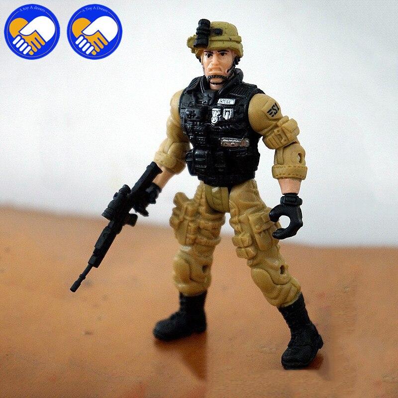 Lanard Elite Forza 1:18 Militare Tunnel stalker SWAT 1:18 Bilancia Action Figure Statua Della Bambola 3.75 pollice Best Giocattoli di Raccolta