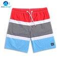 GL Бренд Летом стиль лоскутная полосатый мужские пляжные boardshorts шорты, quick dry masculina де marca плюс размер мужские шорты