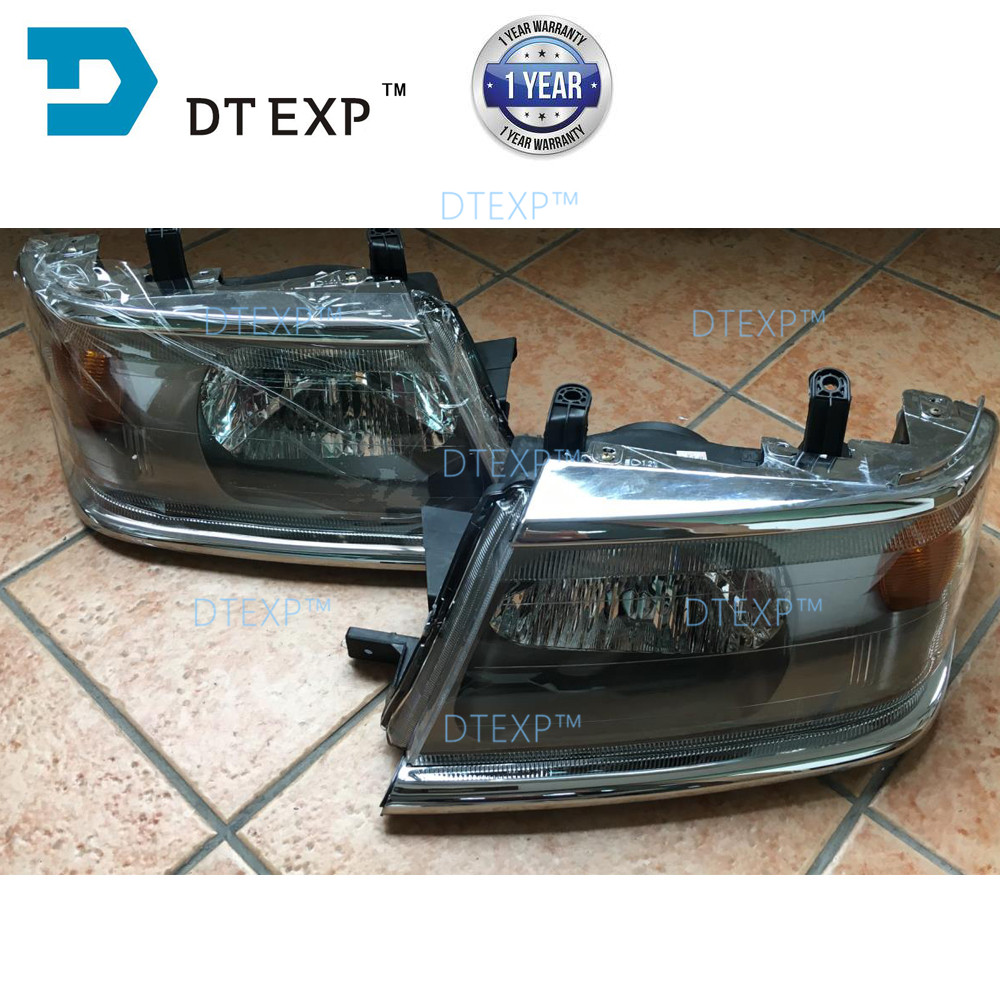 HEAD LAMP FOR PAJERO SPORT FRONT lamp FOR MONTERO SPORT CHALLENGER TURNING lamp CHOOSE THE VERSION YOU NEED HEADLIGHT лодка intex challenger k1 68305