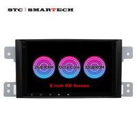 SMARTECH 8 дюймов автомобильное аудио радио gps навигационная система для Suzki Grand Vitara 2005 2012 Android 8.1.0 Восьмиядерный 2 Гб ram 32 Гб rom