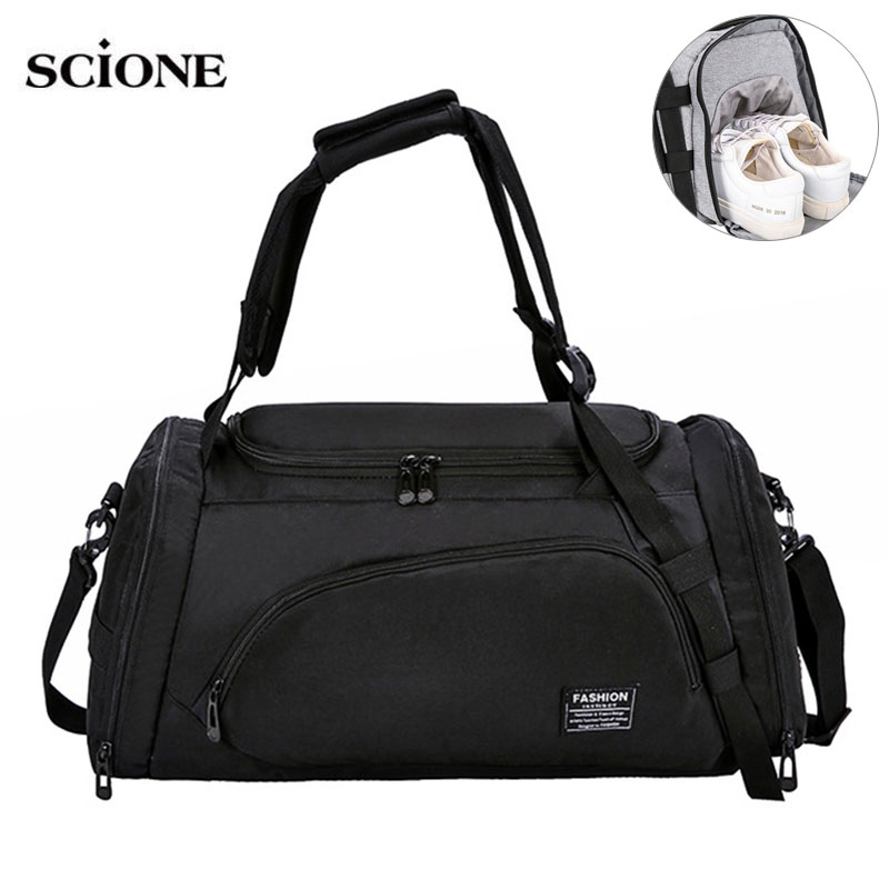 Multi-functional Travel Backpack Gym Bags Dry Wet Men Training Sac De Sport Handbags Bag For Shoes Fitness Traveling XA659WA