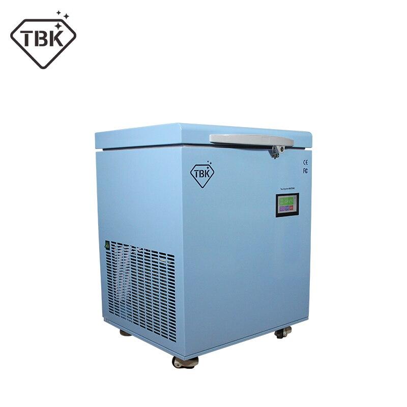 Machine professionnelle de congélation de masse de séparateur congelé par TBK-598-180C pour la Machine de séparation d'écran tactile d'affichage à cristaux liquides d'iphone X de bord de Samsung
