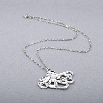 Octopus Long Chain Necklace2