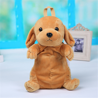 MIRABBIT 1pc 30 15 11cm 3 Style Dog Plush Backpack Children Toy Small Bag Plush Small