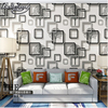 Papel De Parede Personality Simple 3D Stereoscopic 3d Wallpaper Background Wallpaper The Living Room TV Pvc