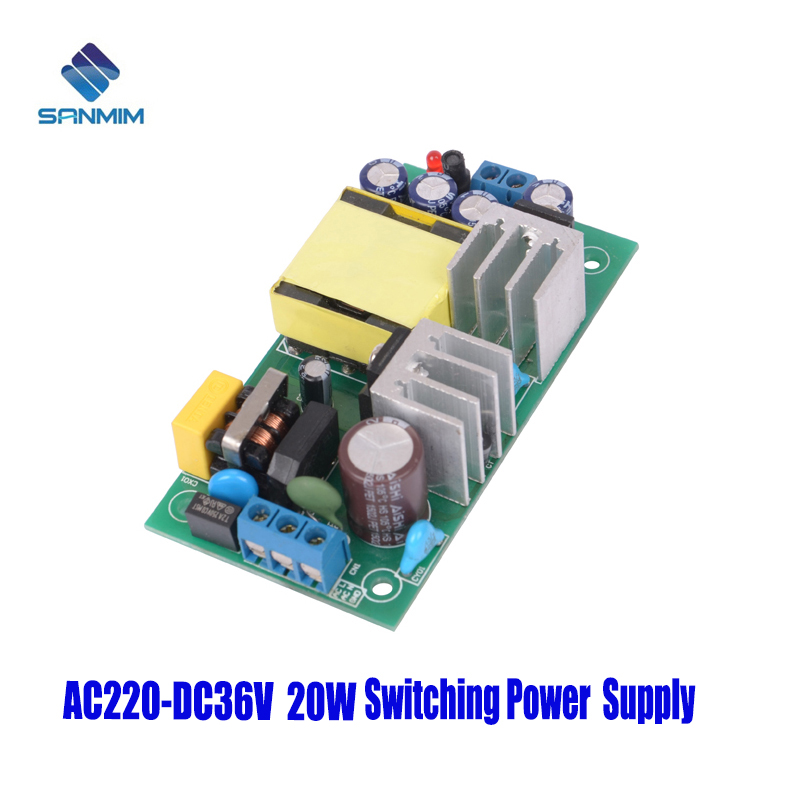 SANMIN AC220V-DC36V 0.6A 20W Power supply Isolated switch power supply module <font><b>220</b></font> to <font><b>36v</b></font> bare board GPM20B36V image