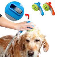 Pet Dog Cat Shower Sprayers Bathtub Brush Dogs Cats Horse Bathing Comb Massage Grooming Cleaning Tool