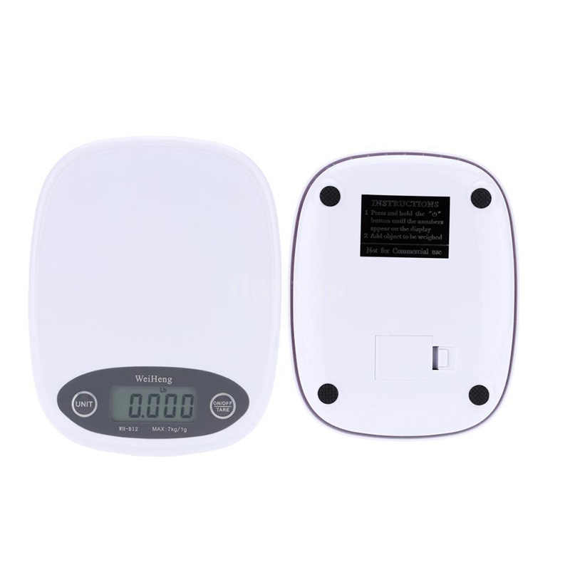 7kg/3kg 0.1/1g Kitchen Scales 3 Style High Precision LCD Digital Display Mini Scale Gram Weighing Scale for Kitchen Food Jewelry