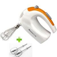 Keuken thuisgebruik multifunctionele handmixer met 5 snelheden eiklopper steel koffie beker mixer Mini Handvat Mixer-in Mixer van Huishoudelijk Apparatuur op