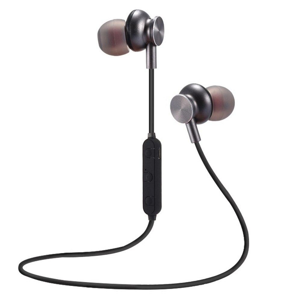 Magnetic Bluetooth Earphone Waterproof Sports Wireless Headphone With MIC For Xiaomi Huawei Neckband Bluetooth 4.2 Earphone