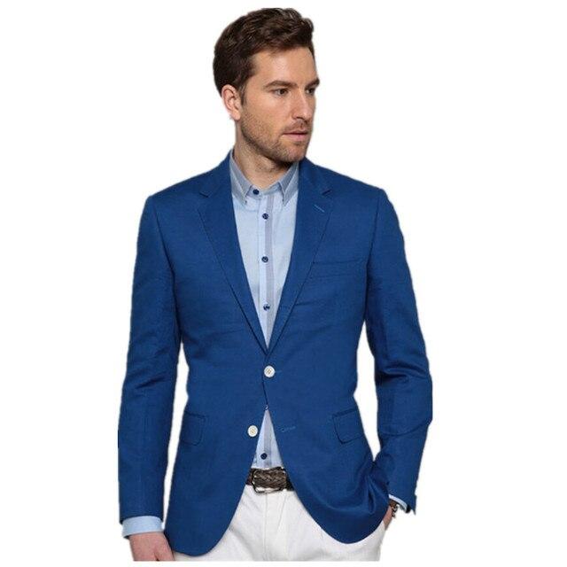 Мужчины Костюм Куртки Пиджаки Платье Костюмы мужская Мода Slim Fit Одной Кнопки Мужчины Стиль Пиджаки Куртки