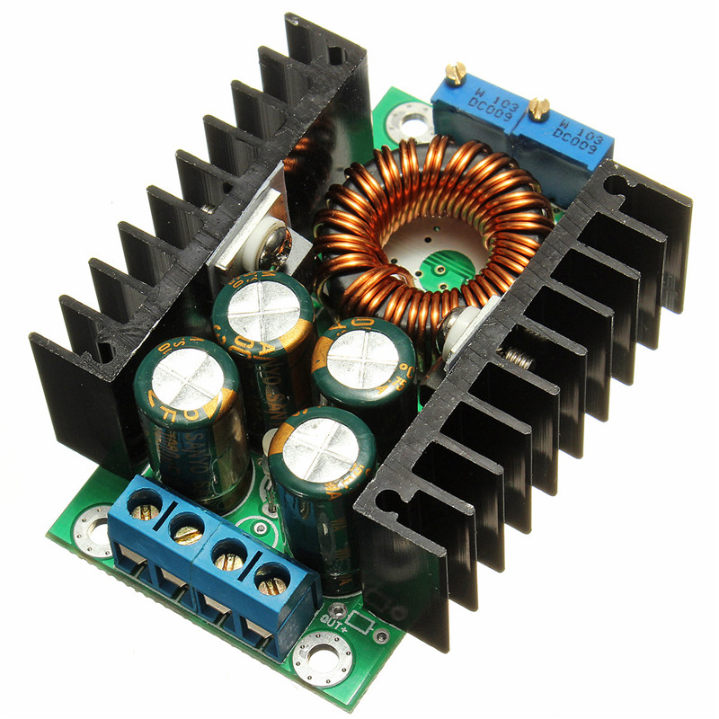 цена на Adjustable Power Supply Module DC-DC CC CV Buck Converter Step-down Power Module 7-32V to 0.8-28V 12A 300W
