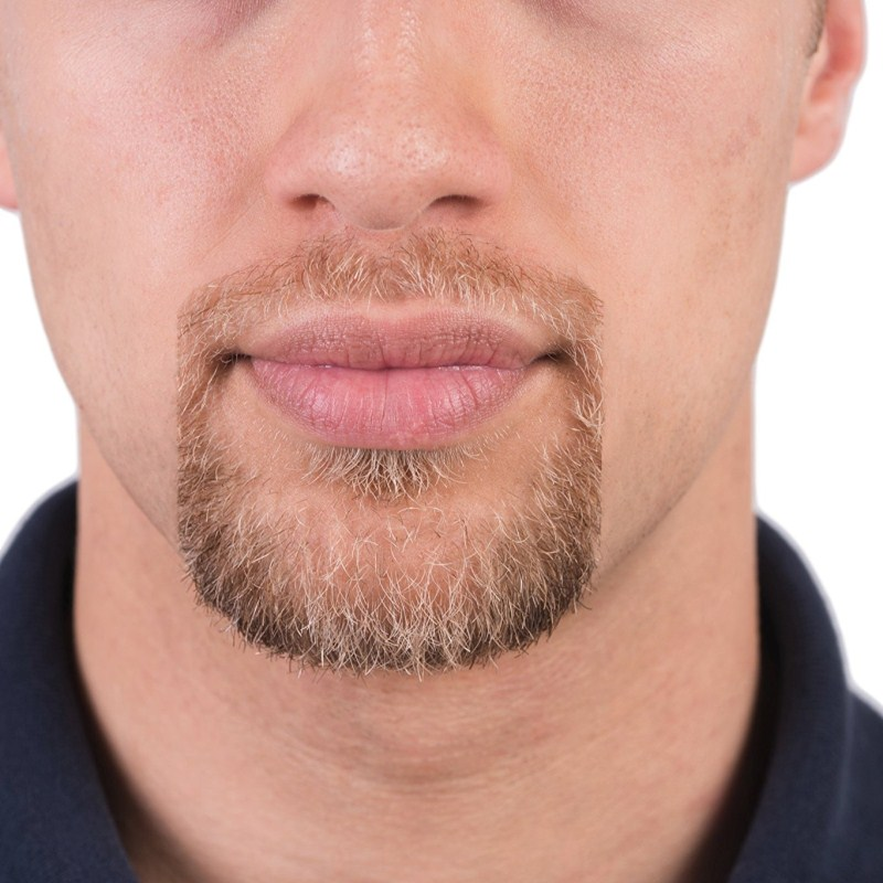 5Pcs/lot Symmetric Cut Goatee and Neck Line Mustache Accessories Grooming Beard Care Beard Shaping Tool for Moustache Hair Style 2