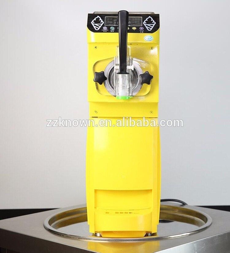 Multiusos nuevo estilo fabricante 5L/H máquina de helado suave con 1 tolva