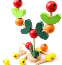 New wooden toy wood Wisdom Tree Baby Free shipping