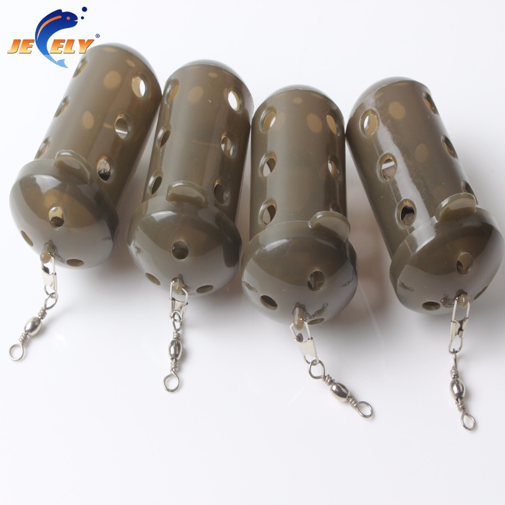 30G Coarse Carp Catfish Fishing Feeder Nylon And Pure Lead Fish Bait Cage Fishing Tools Accessorys