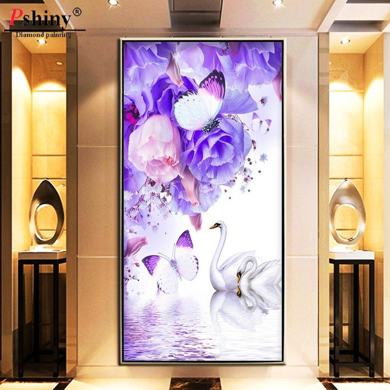 Pshiny 3d diy διαμάντι κέντημα Πλήρης - Τέχνες, βιοτεχνίες και ράψιμο - Φωτογραφία 2