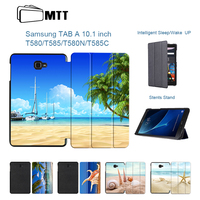 MTT Tablet Flip Stand Case For Fundas Samsung Galaxy Tab A 10 1 2016 T580 T585