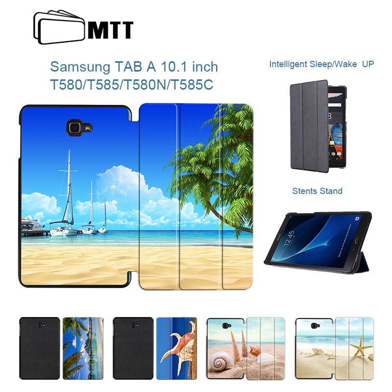 MTT Tablet Flip Stand Case For fundas Samsung Galaxy Tab A 10.1 2016 T580 T585 Cover For Coque Galaxy Tab A6 T580N T585C Case tab a6 10 1 360 degree rotating folio pu leather case flip cover for samsung galaxy tab a 6 10 1 t580 t585 10 1 tablet case