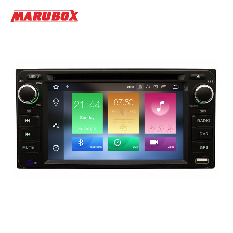 MARUBOX 2 din android 9 0 4G RAM For Toyota Hilux Fortuner Innova Camry Corolla Old
