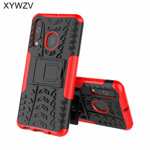 Image 2 - For Samsung Galaxy A60 Case Shockproof Armor Soft PU Silicone Hard PC Phone Case For Samsung Galaxy A60 Cover For Samsung A60