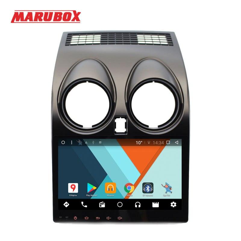 MARUBOX 9A002MT8 Voiture lecteur multimédia pour Nissan Qashqai Dualis 2007-2014 Navigation GPS Auto Radio Android 7.1.2