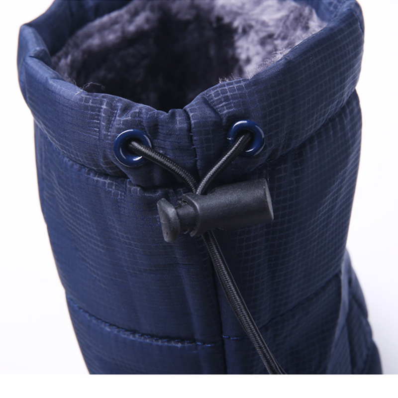 ac1f08c8574 US $26.63 37% OFF STQ 2019 Winter Women snow boots mid calf boots women non  slip rubber boots black warm fur plush Waterproof boots 1811-in Mid-Calf ...