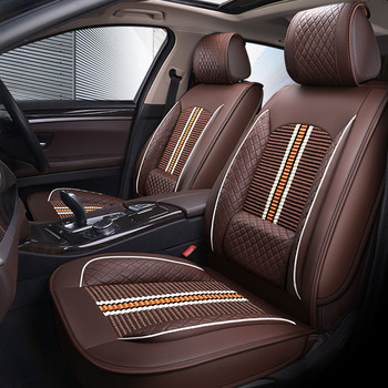Car Seat Cover Leather For Toyota Corolla Camry Rav4 Auris Prius Yalis Avensis 2014 Sticker Auto Accessories Car-styling