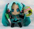 5 unids/lote Hatsune Miku VOCALOID bebé serie de juguetes de anime japonés muñecas juguetes de peluche 24 CM smile Hatsune Miku envío gratis
