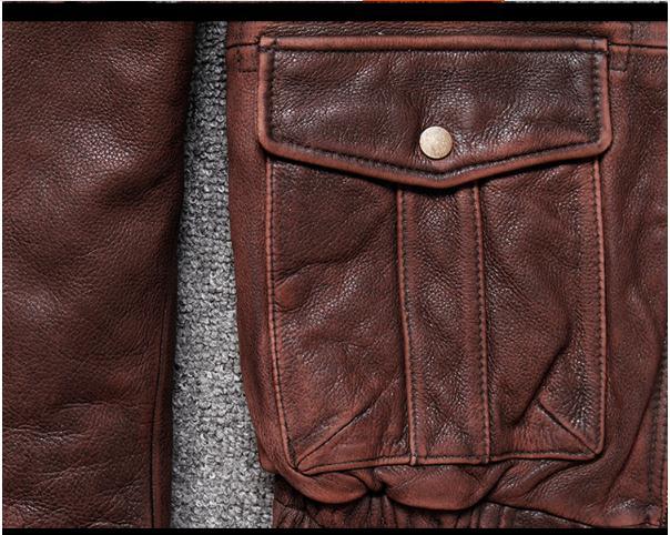 HTB1dAReXJjvK1RjSspiq6AEqXXa1 Brand new winter warm.Classic G1 style mens leather jacket,vintage cowhide Jackets,man genuine leather coat