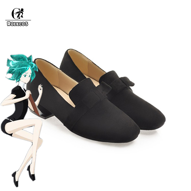ROLECOS Land of the Lustrous Anime Cosplay Shoes Phosphophyllite Cosplay Cinnabar Shoes Diamond Anime Cos