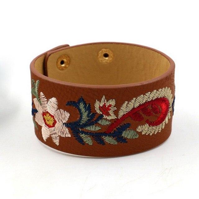 Bohemia Embroidery Flower...