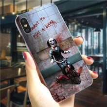 Jigsaw Sah Horror Filme Telefon Abdeckung Für iPhone 6S Plus Fall 5 5S SE 6 6S/6 Plus 7 8/7 9 Plus X XS XR Xs Max Hard Shell Mode(China)