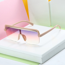MARC Female Flat Top Sunglasses Men Brand