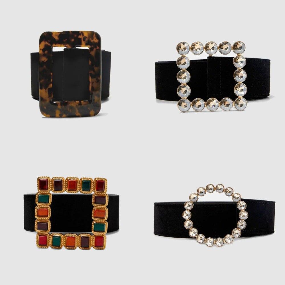 Vedawas falso Piercing las cadenas del vientre para las mujeres joyería nuevo estilo de diamantes de imitación de corazón de cristal de cadena de cuerpo Pendientes de botón Pendientes al por mayor xg2089
