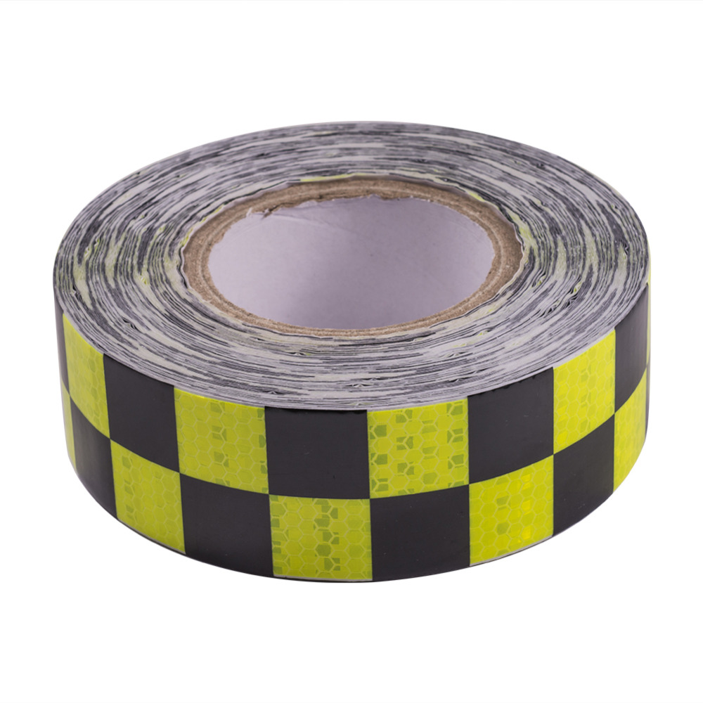 Hot Reflective Sticker PVC Car Stickers Safety Mark Automobiles Motorcycle Reflective Tapes