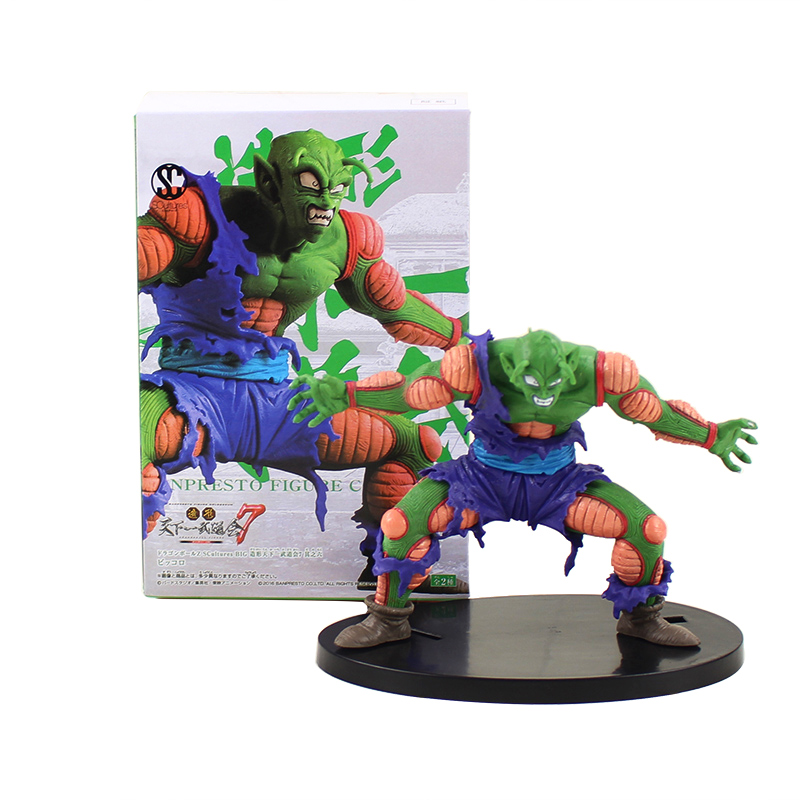 Toys & Hobbies Self-Conscious Wstxbd Original Scultures 7 Dragon Ball Z Dbz Super Saiyan Brolly Pvc Figure Model Toys Dolls Figurals Vol.3