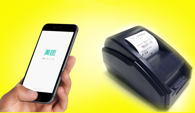 Blu 58mm Bluetooth Printer New listing pos printer receipt printer thermal printing with At the same time with a USB interface usb interface 58mm pos receipt printer thermal printing with power supply built in free shipping