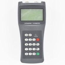 Digital Portable Ultrasonic Water Flowmeter TDS-100H DN15mm-DN700mm Liquid flow meter S2 M2 Transducer 1 connector water liquid flow meter flowmeter 5 50l h