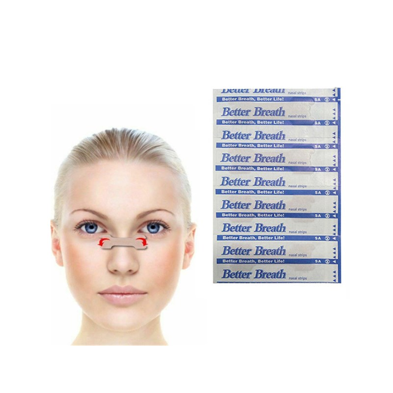 200 Pcs Nasal Strips Anti Snoring Patches Better Breath For Stop Snoring Health Care Breathe Right Better Nasal Strip