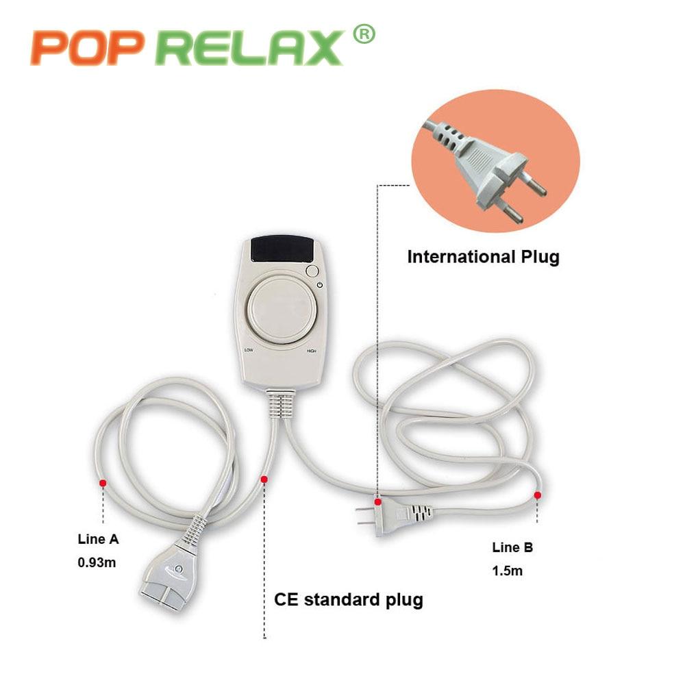 POP RELAX turmalin batu urut mat anion jauh pemanasan inframerah haba - Penjagaan kesihatan - Foto 6
