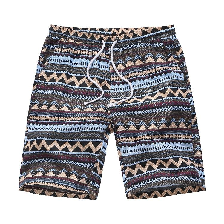 Men Shorts Hawaiian Style Leisure Summer Shorts Men Flowers Casual Floral Beach Pants Men's Clothing Fashion
