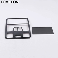 TOMEFON For Ford Focus 2019 2020 Front Roof Top Reading Light Lamp Frame Molding Cover Trim Interior Accessories Stainless Steel