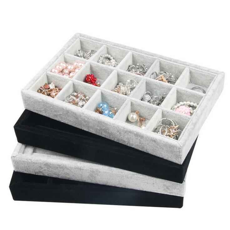 Aliexpress.com : Buy 15 Grids Box/Tray Nice Jewelry Tray