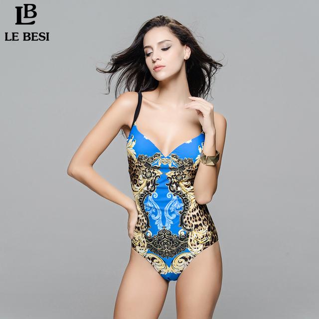 LE BESI New Hot Sale Women's Girl Sexy Swimwear One Piece Swimsuit