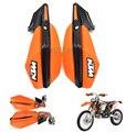 KTM Motocicleta handguards Mão Guarda Fit SX SXF EXC Supermoto Motocross Guiador 85 125 250 300 500 525 ATV QUAD